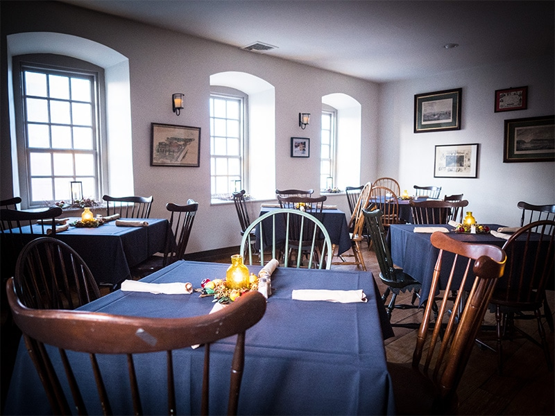 Dining Room at Tavern at the Sun Inn