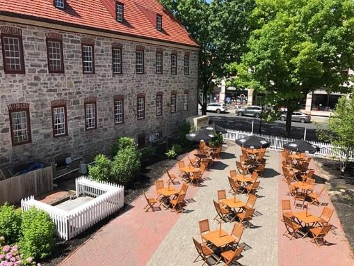 Tavern at the Sun Inn's Outdoor Dining