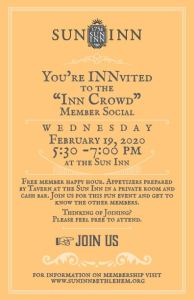 Inn Crowd Social - February