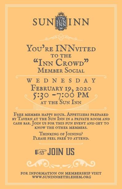 Inn Crowd Social - February