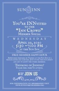 Inn Crowd Invite.April