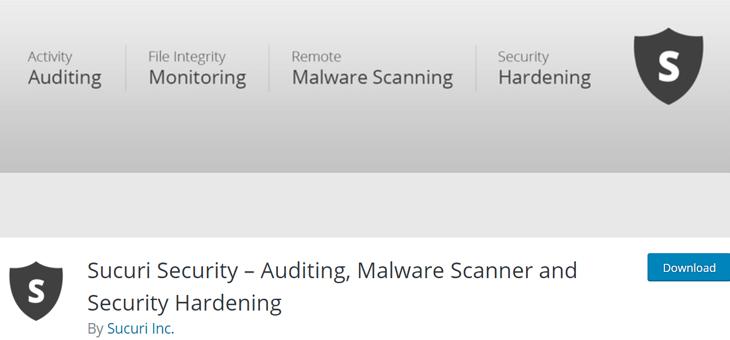 Sucuri Security WordPress Plugin Free