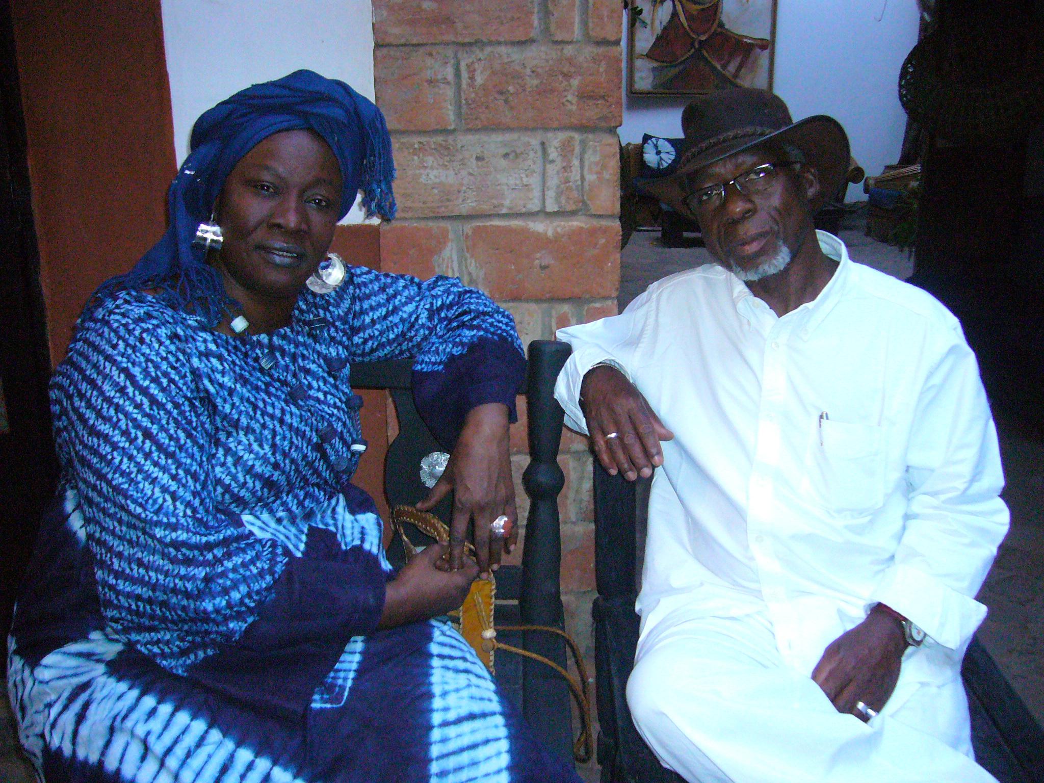 Aminata Traoré et Souleymane Koly