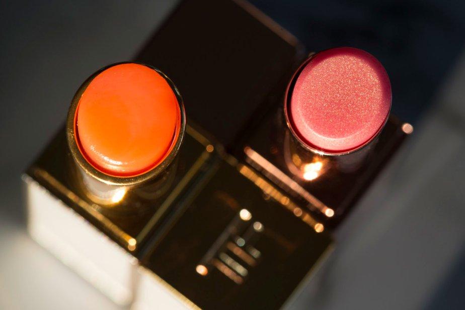 Tom Ford Lumière Lip vs Orgasm Afterglow Lip Balm