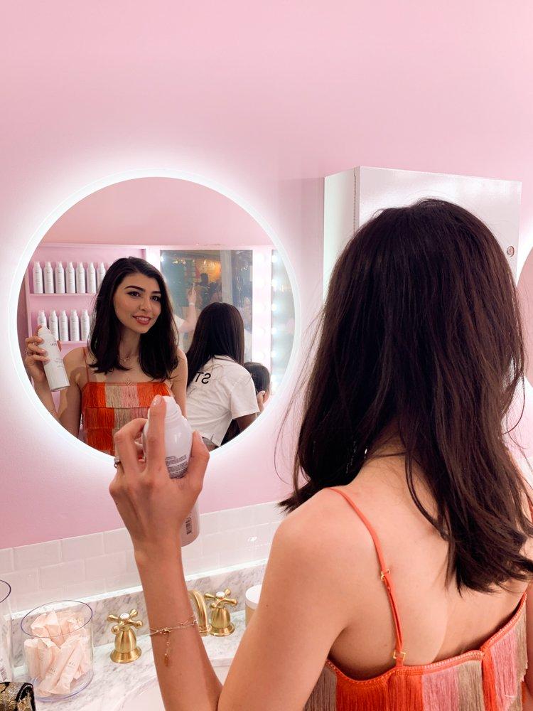 Trying OUAI Super Dry Shampoo at Sephoria House of Beauty