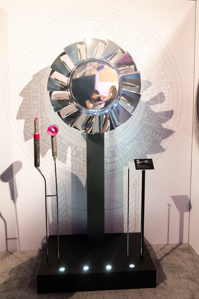 dyson brand booth at Sephoria House of Beauty