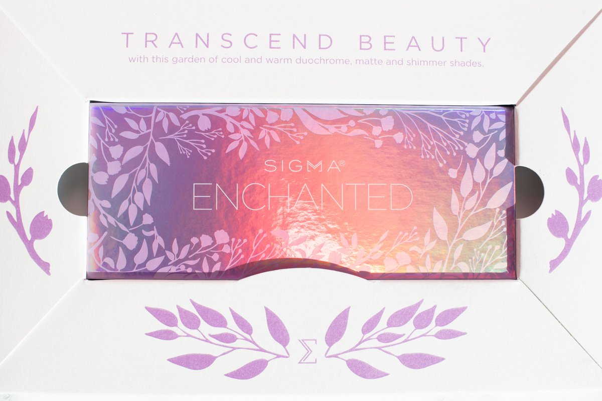 Sigma Beauty Enchanted Eyeshadow Palette PR package