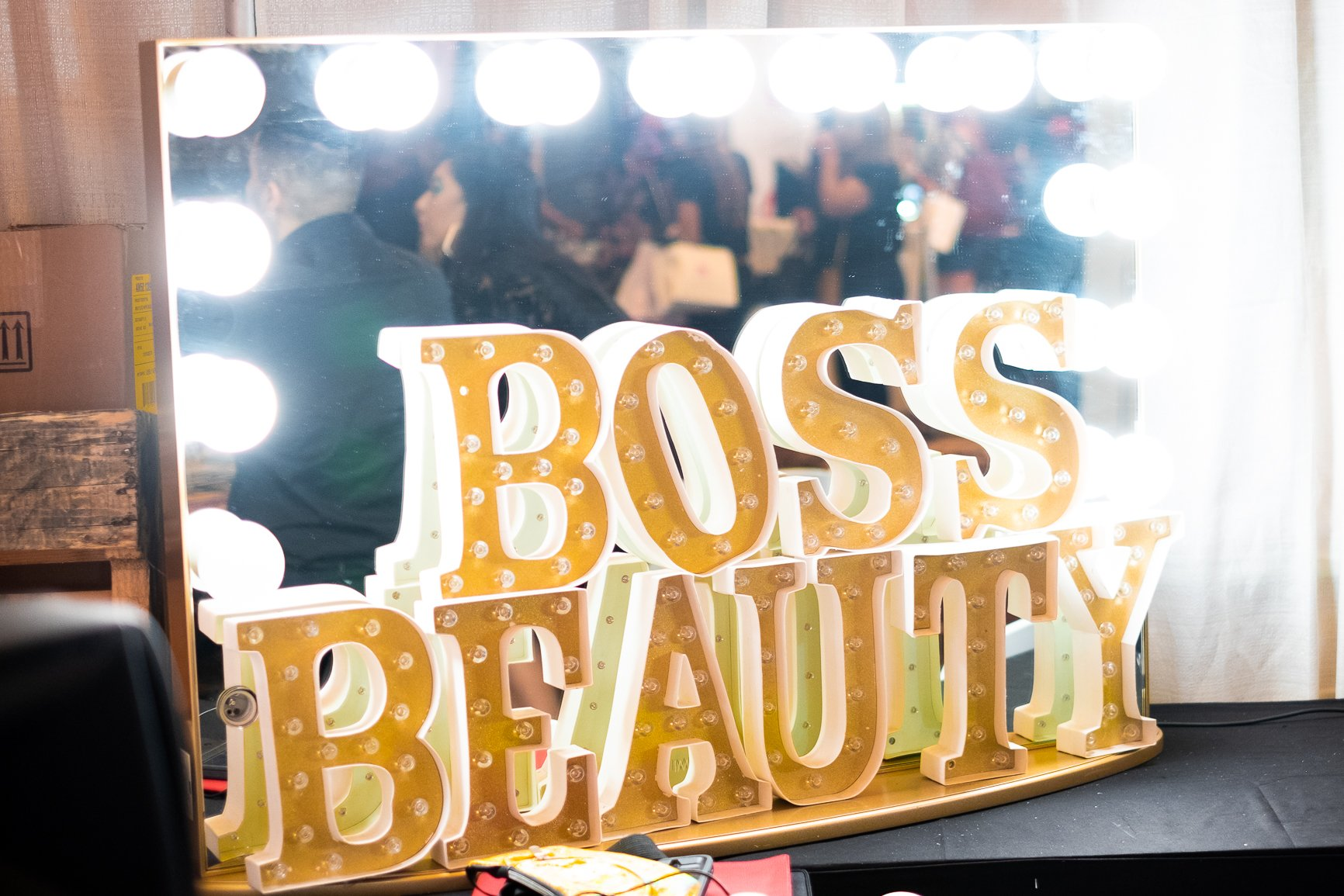 Boss Beauty mirror