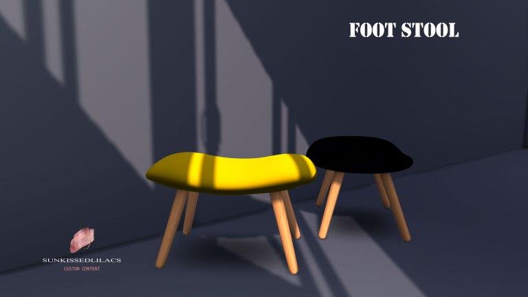 foot stool, sims 4