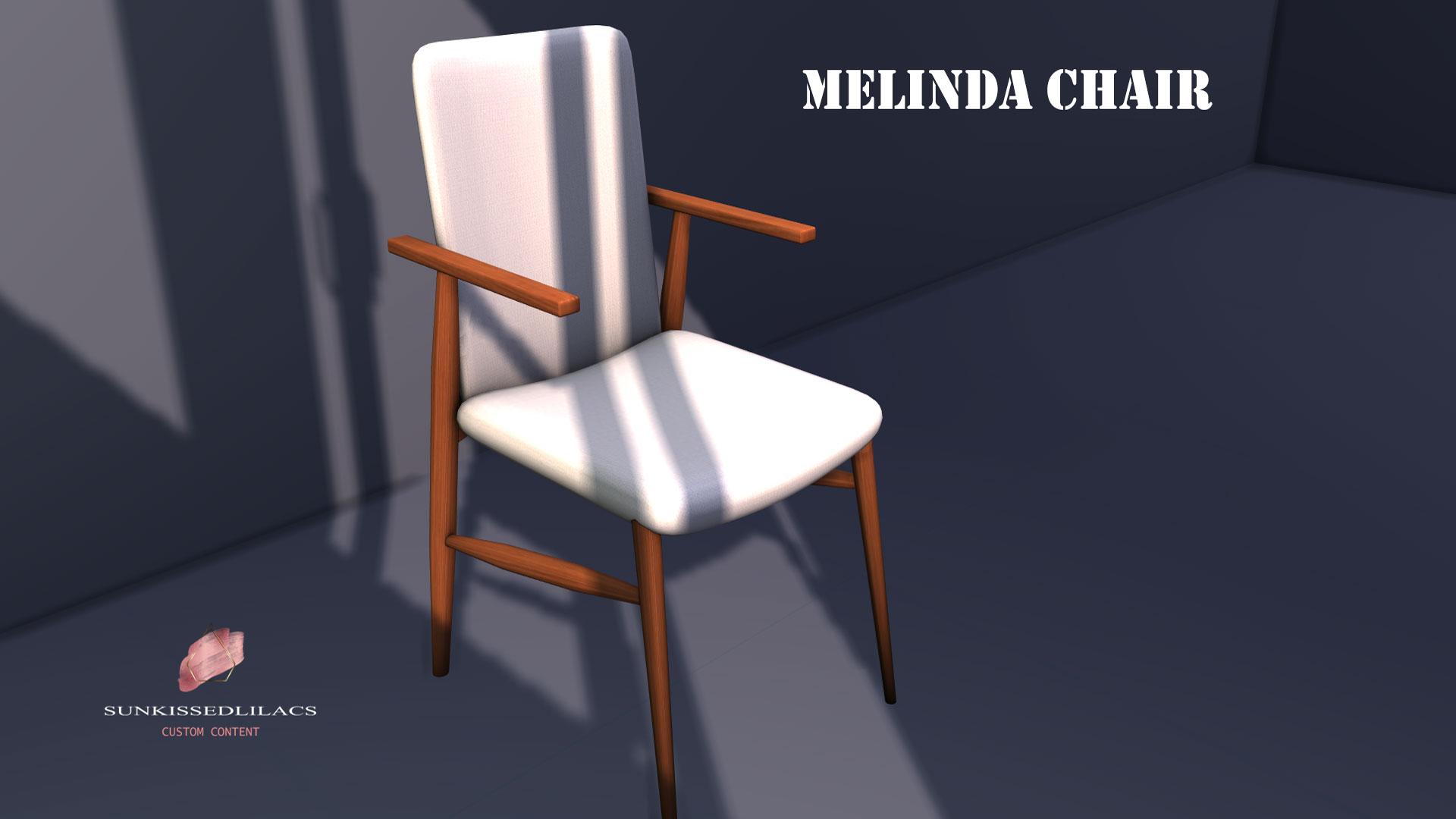Melinda Chair sunkissedlilacs-simms-4-custom-content