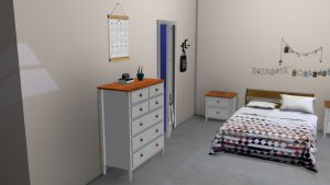 Ikea Visdalen Dresser & Table, high quality sims 4 cc, sunkissedlilacs, free sims 4 furniture, sims 4 custom content,