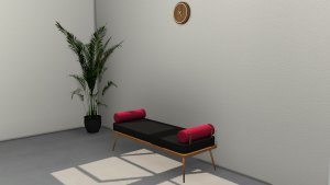 Sofa Bench, high quality sims 4 cc, sunkissedlilacs, free sims 4 furniture, sims 4 custom content,