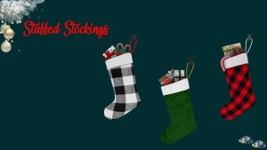 Stuffed stockings, high quality sims 4 cc, sunkissedlilacs, free sims 4 furniture, sims 4 custom content,