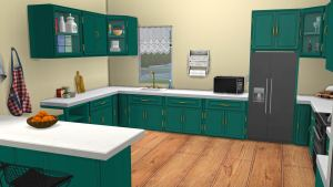 Arlington Kitchen, high quality sims 4 cc, sunkissedlilacs, free sims 4 furniture, sims 4 custom content,