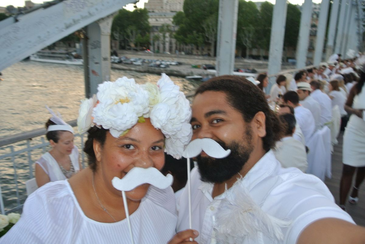 Le Dîner en Blanc Paris, France 2014