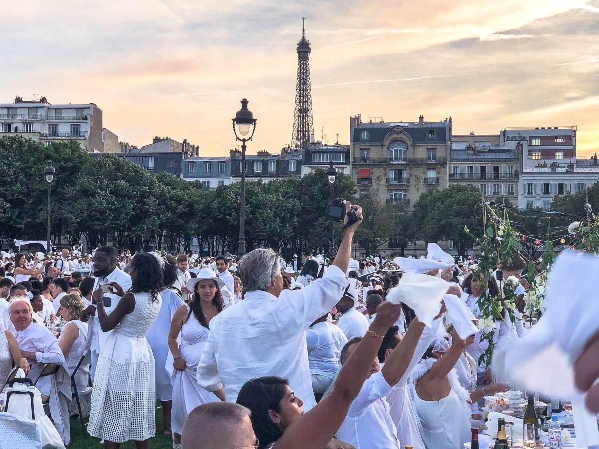 Le Dîner en Blanc Paris 2018