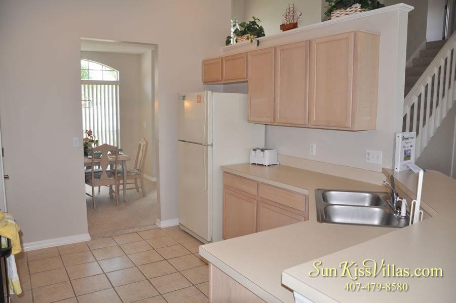 Vacation Rental Near Disney - Bahama Breeze - Kitchen