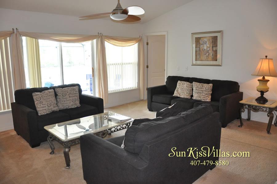 Orlando Vacation Rental Home Near Disney - Cypress Grand - Family Room