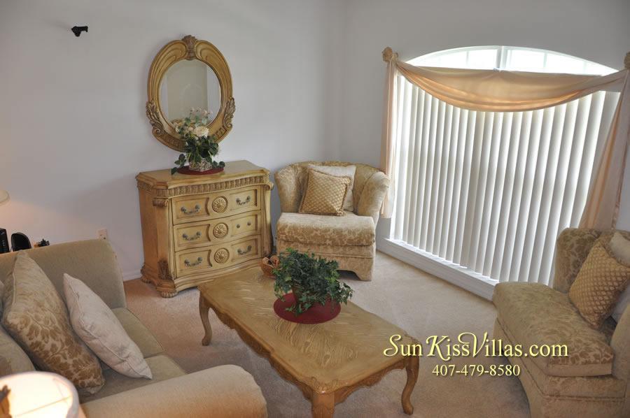 Orlando Vacation Rental Home Near Disney - Cypress Grand - Living Room