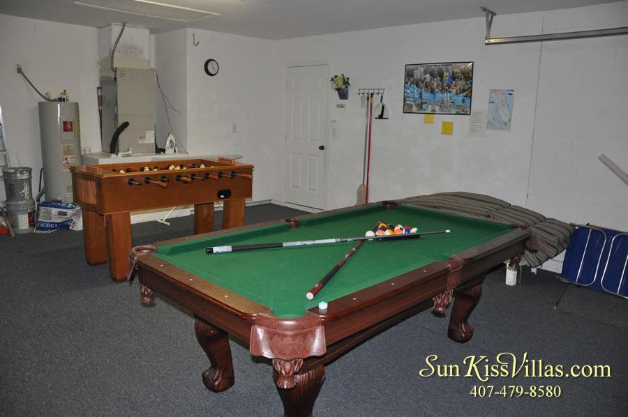 Orlando Vacation Rental - Disney Fun - Game Room