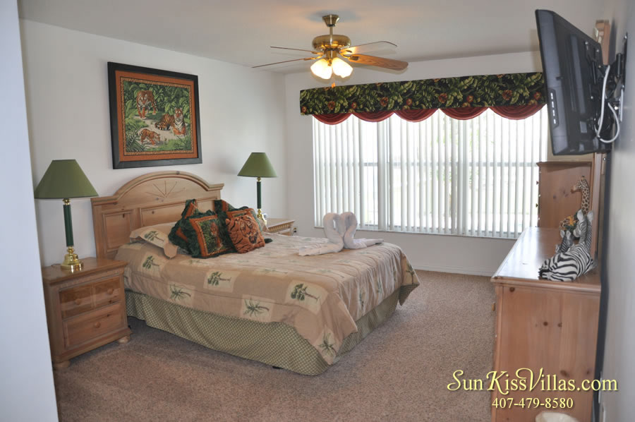 Disney Palm Vacation Home Rental - Master Bedroom