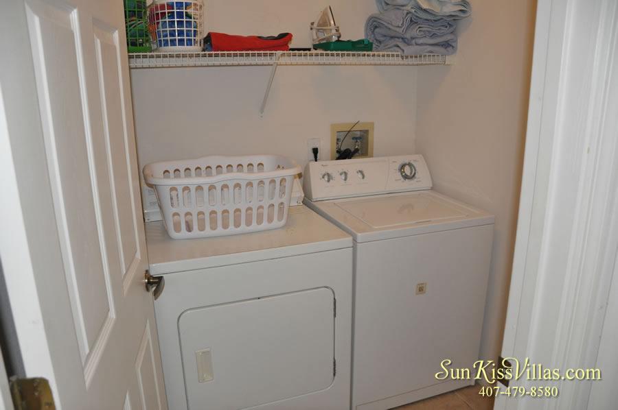 Disney Vacation Home Rental - Disney Palms - Laundry Room