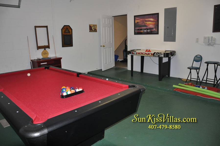 Disney Orlando Vacation Rental - Endless Summer - Game Room