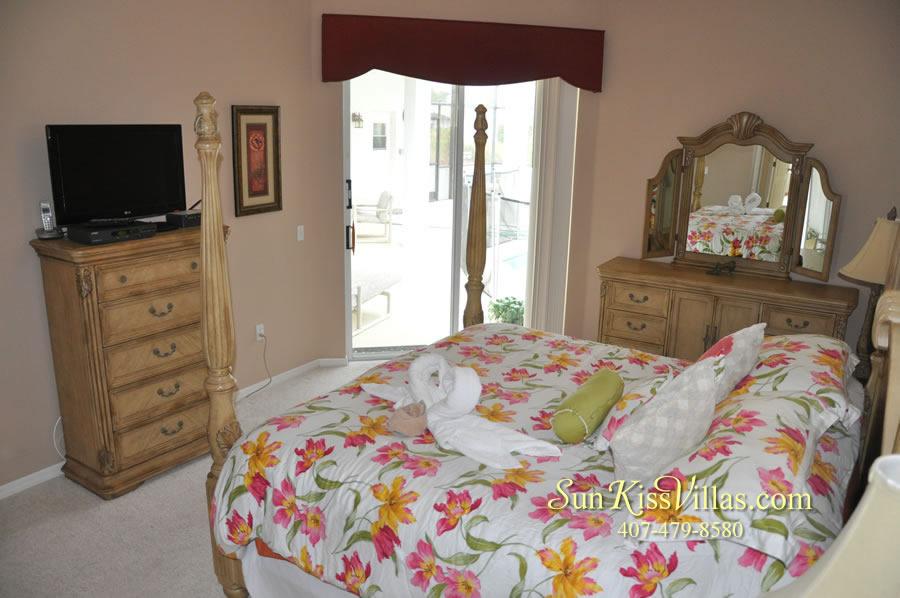 Orlando Disney Vacation Home Rental - Grand Hereon - Master Bedroom