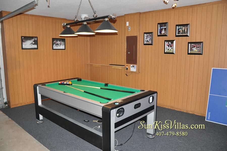 Orlando Disney Vacation Home Rental - Grand Hereon - Game Room