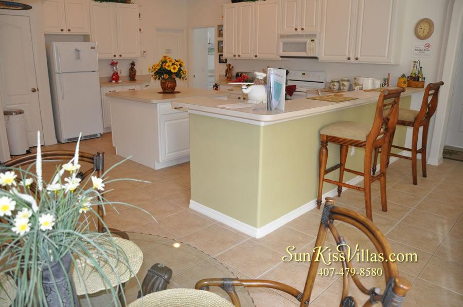 Orlando Disney Vacation Rental Home - Grand Oasis - Kitchen