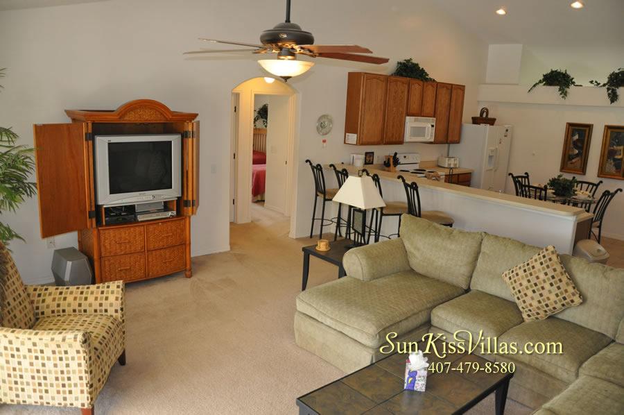 Orlando Disney Villa Rental - Grand Palms - Family Room