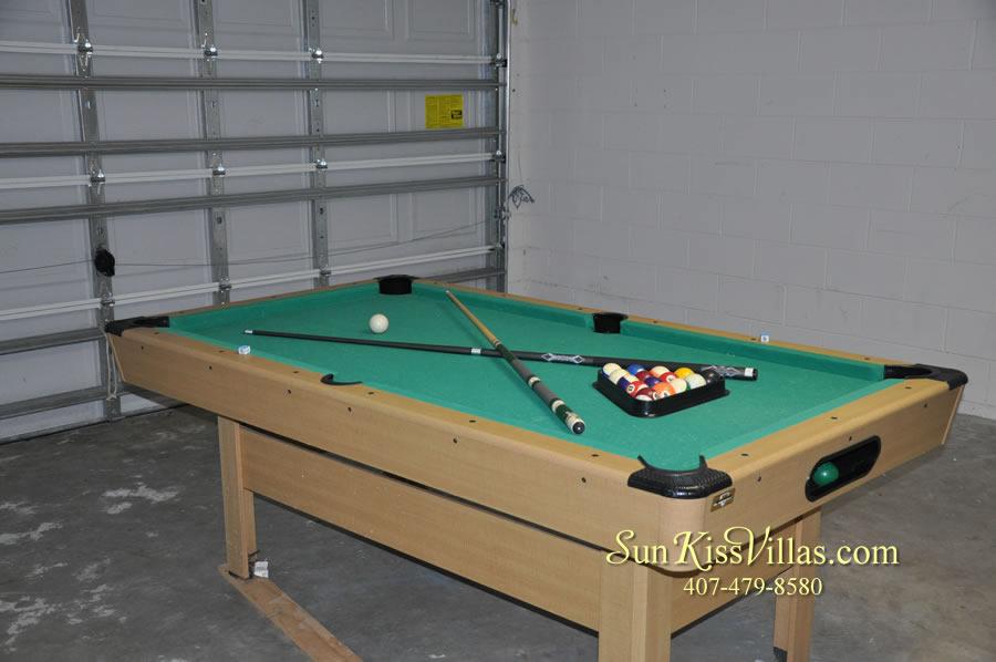 Orlando Disney Villa Rental - Grand Palms - Game Room