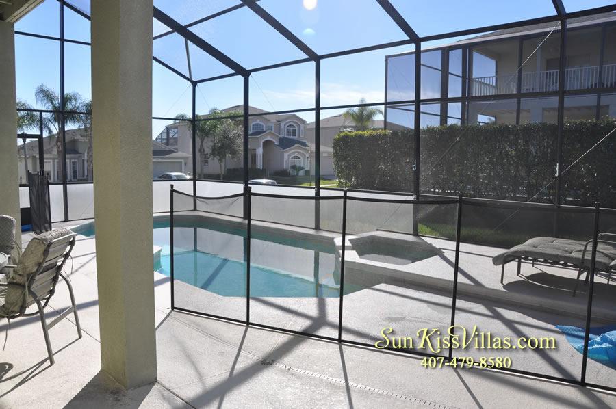 Disney Vacation Villa - Henley Park - Pool and Spa