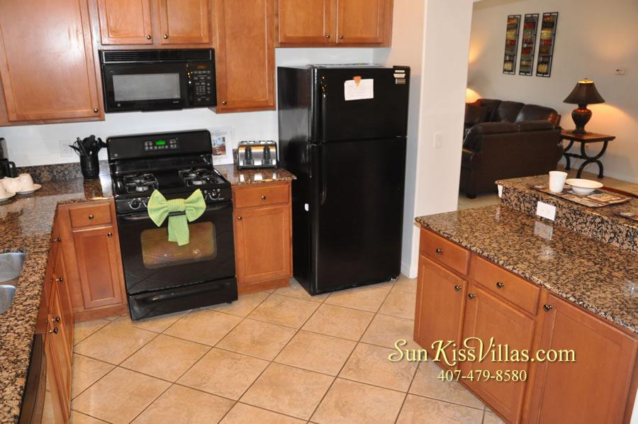 Disney Solana Vacation Rental Home - Mermaid Point - Kitchen