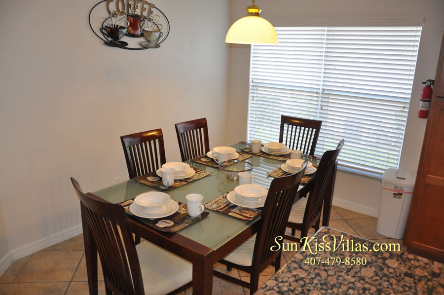 Disney Solana Vacation Rental Home - Mermaid Point - Breakfast