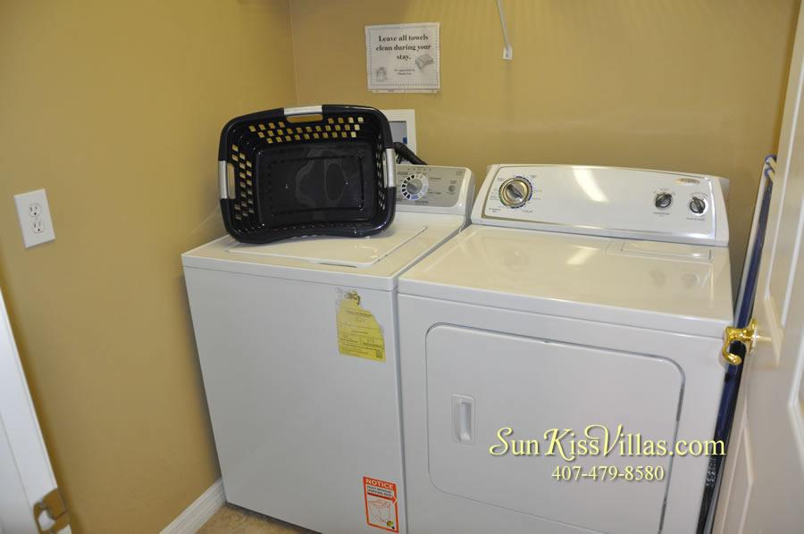 Disney Solana Vacation Rental Home - Mermaid Point - Laundry Room