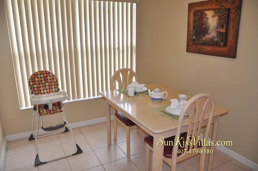 Orlando Vacation Rental - Palm Lake - Breakfast