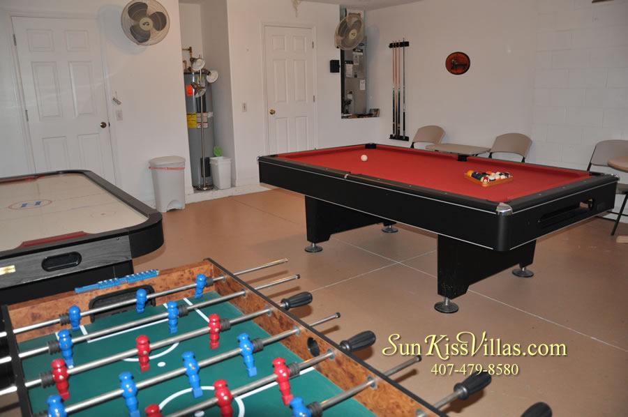 Orlando Vacation Rental - Palm Lake - Game Room