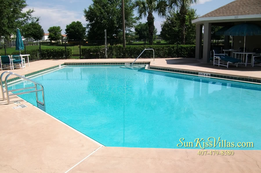 The Palms - vacation home community pool