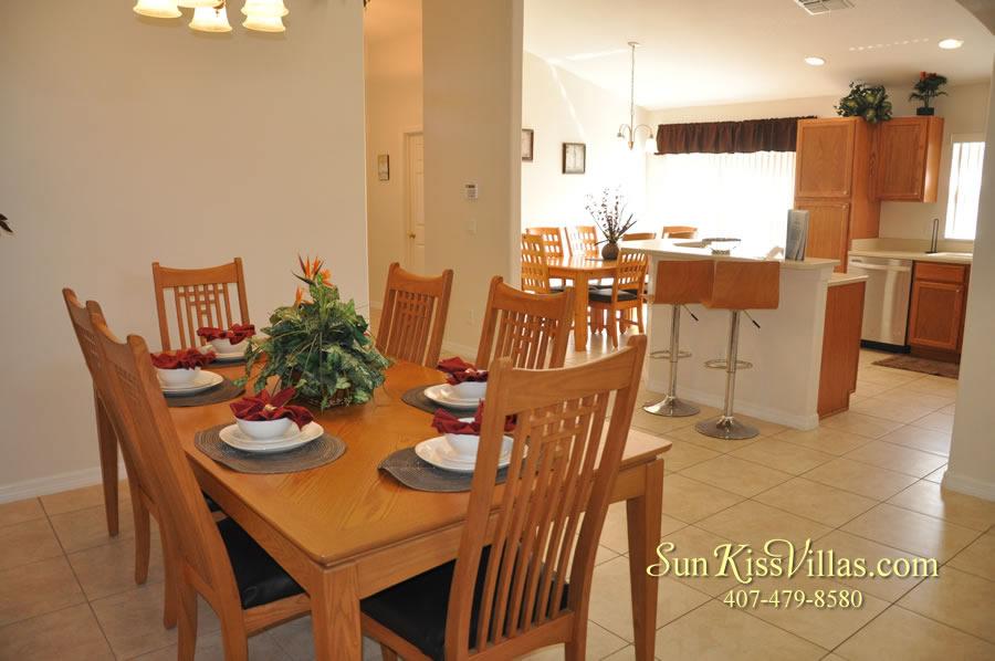 Orlando Disney Vacation Rental Solana - Pelican Point - Dining