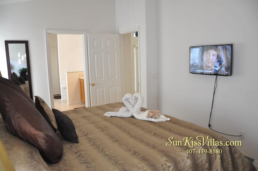 Orlando Disney Vacation Rental Solana - Pelican Point - Bedroom