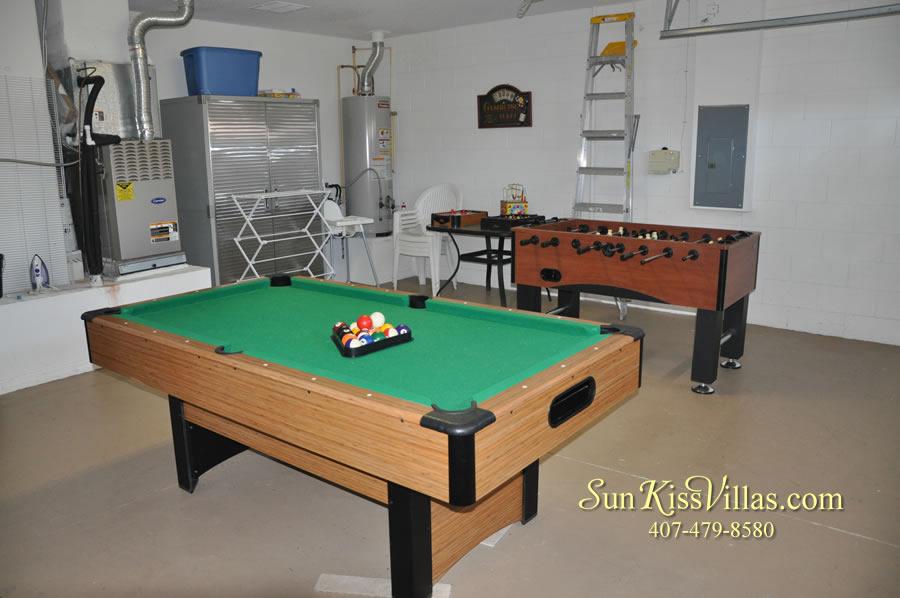 Orlando Disney Vacation Rental Solana - Pelican Point - Game Room