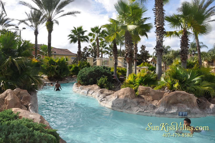 Regal Palms Resort Water Park Lazy River
