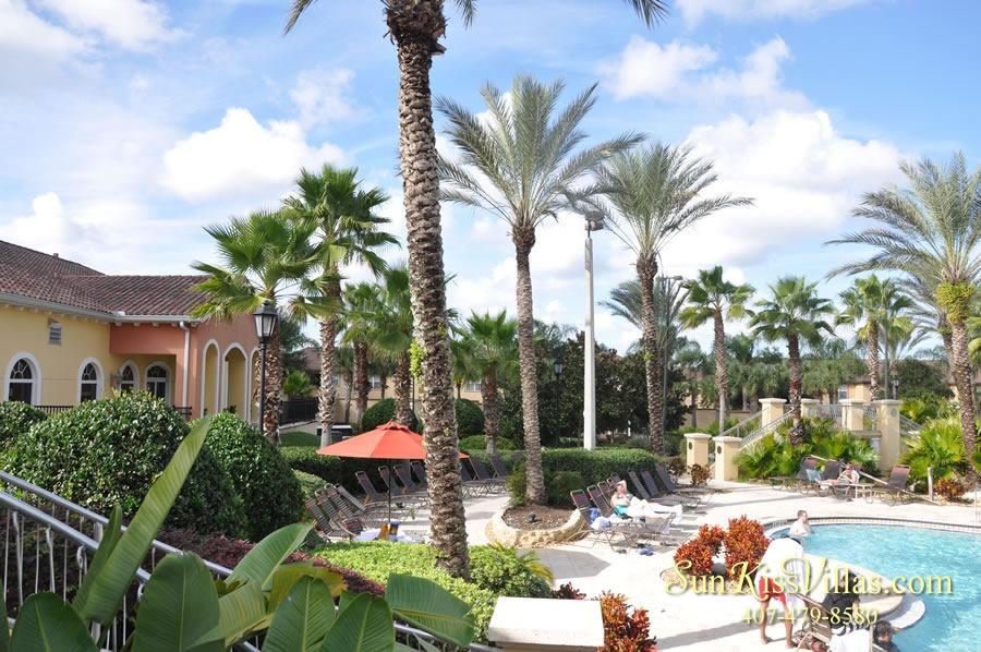 Regal Palms Resort Water Park Lounges