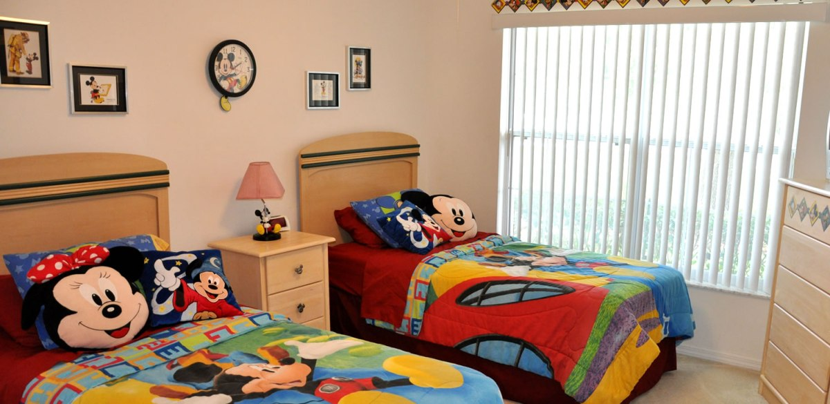 Miceky Mouse Bedroom