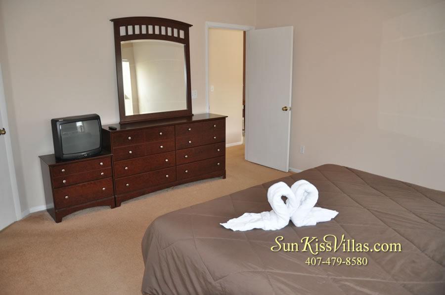 Disney Villa Rental - Sunrise - Bedroom