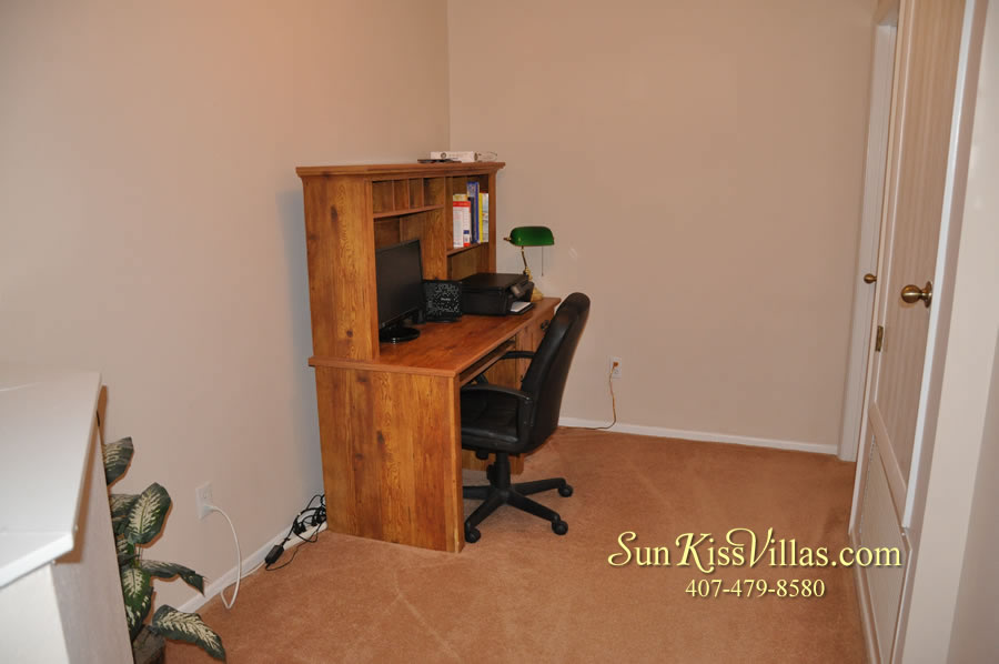 Disney Villa Rental - Sunrise - Computer Desk