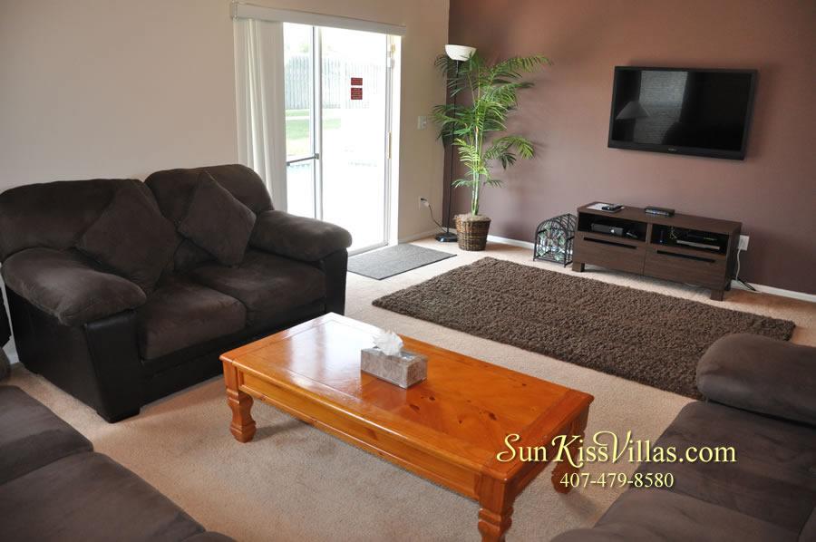 Disney Villa Rental - Sunrise - Family Room