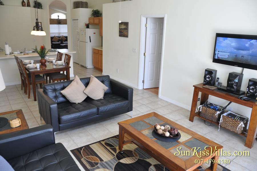 Treasure Cove - Disney Vacation Rental Solana - Family Room