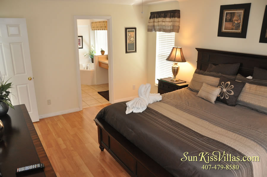 Treasure Cove - Disney Vacation Rental Solana - Bedroom